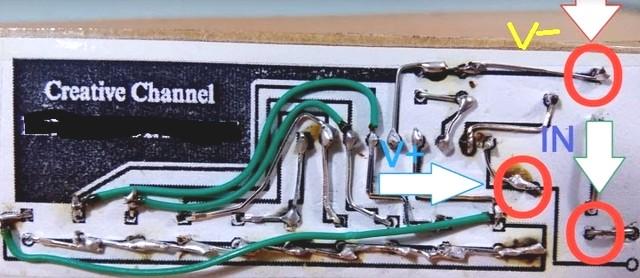 Cấp nguồn audio vào các vị trí trong mạch